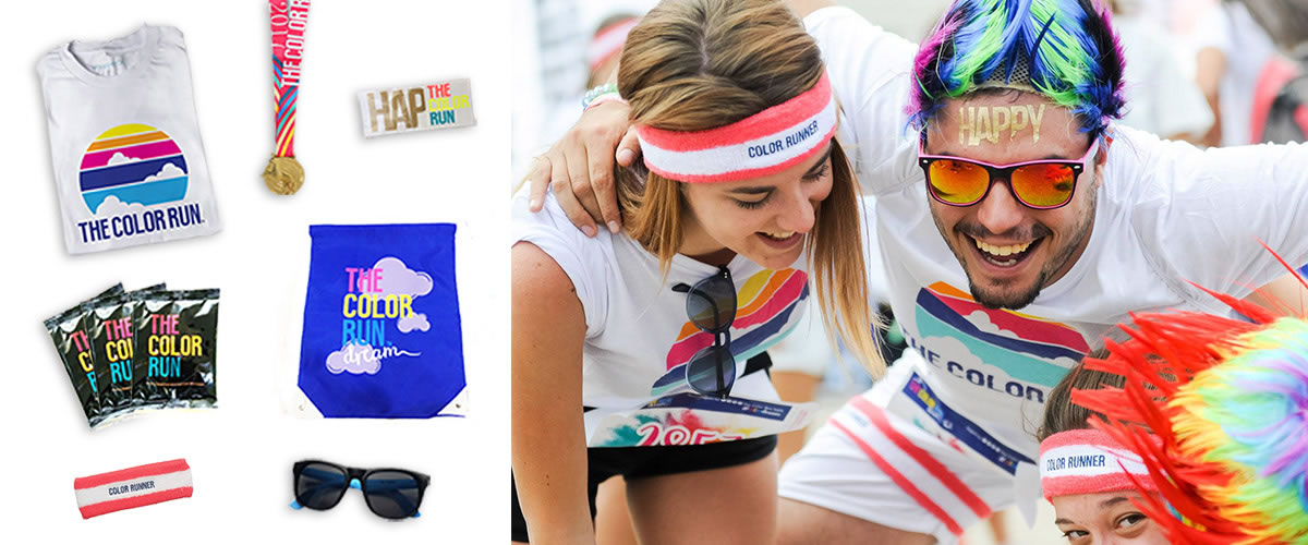 Gadgets for color run