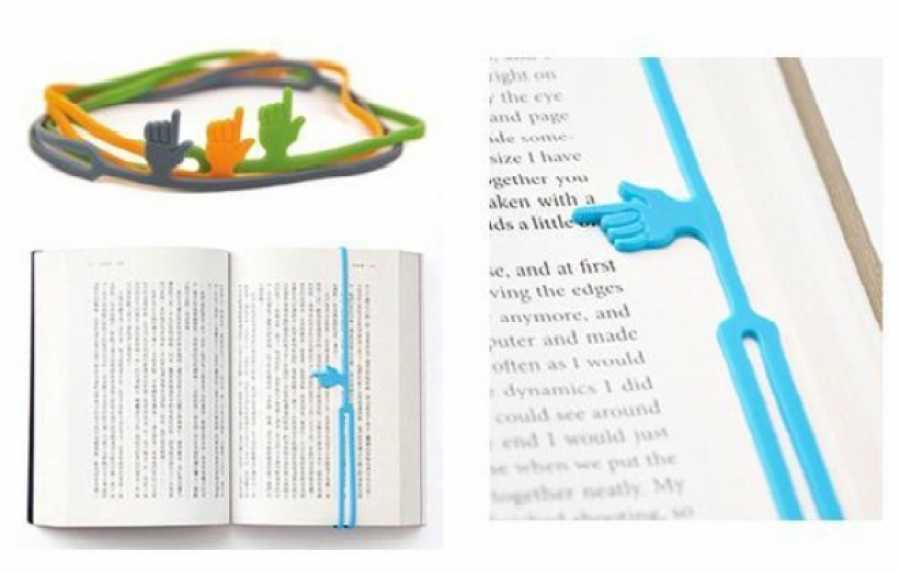 Bookmark in Silicone