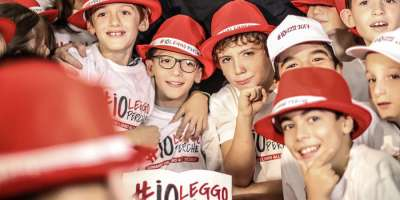 "Gadget Lab participates at ""Io Leggo perché"" with the supply of merchandising"