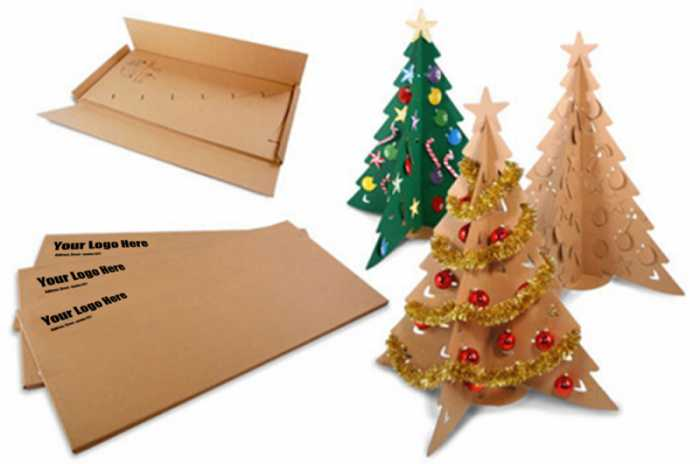 Eco-friendly Cardboard Christmas tree