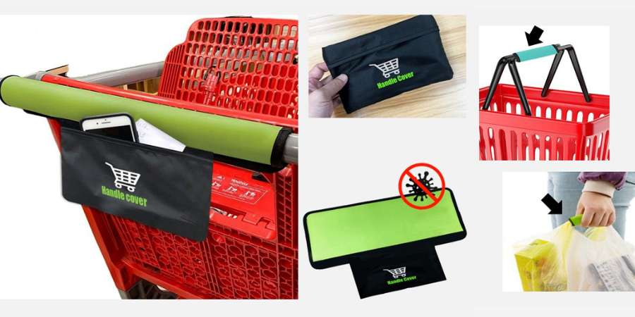 Affordable and up-to-date corporate gifts: the shopping cart handle cover